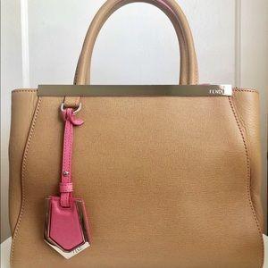 100% Authentic FENDI Petite 2Jours Handbag